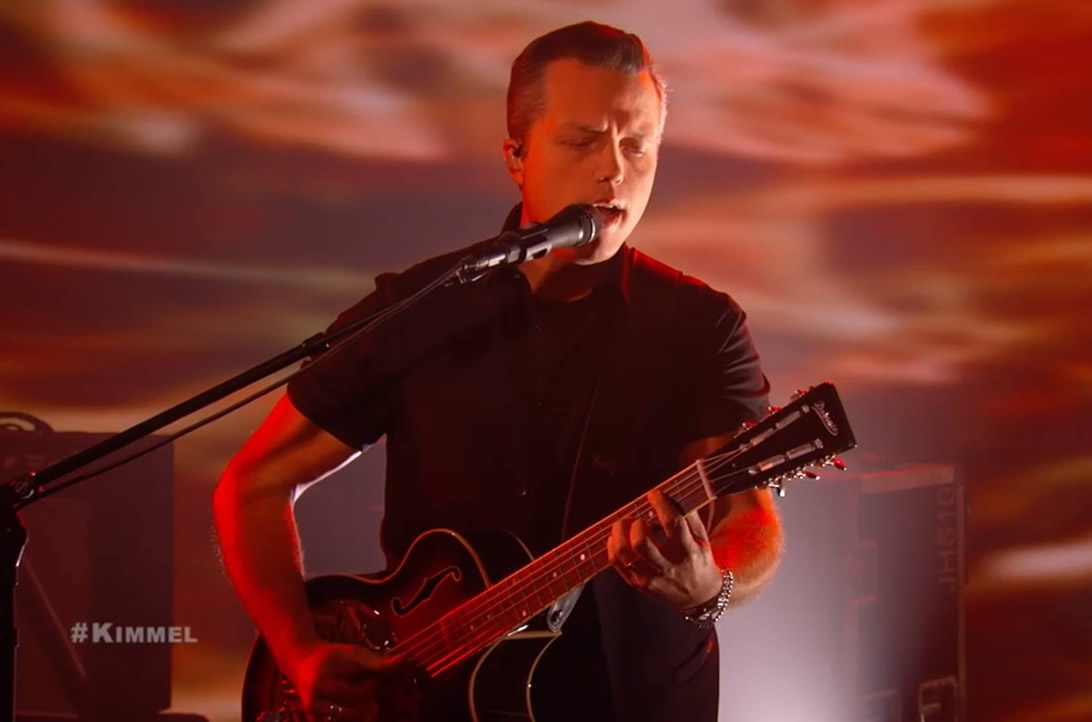 Jason Isbell Plays the Dobrato on Kimmel